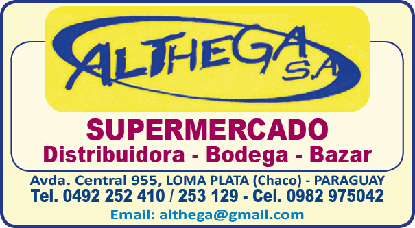 ALTHEGA S.A. - SUPERMERCADO