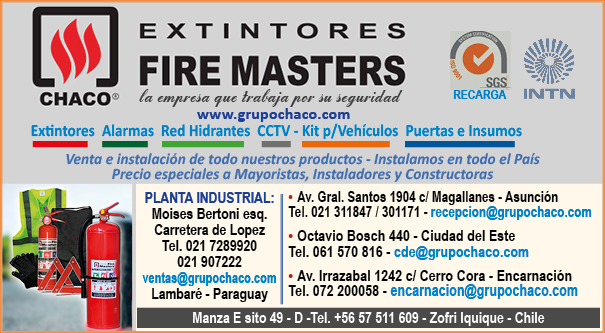 FIRE MASTERS - EXTINTORES